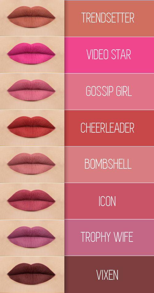Huda Beauty lip set by maccossimetics http://www.maccosimetics.com/2017/01/huda-beauty-liquid-matte-collection.html