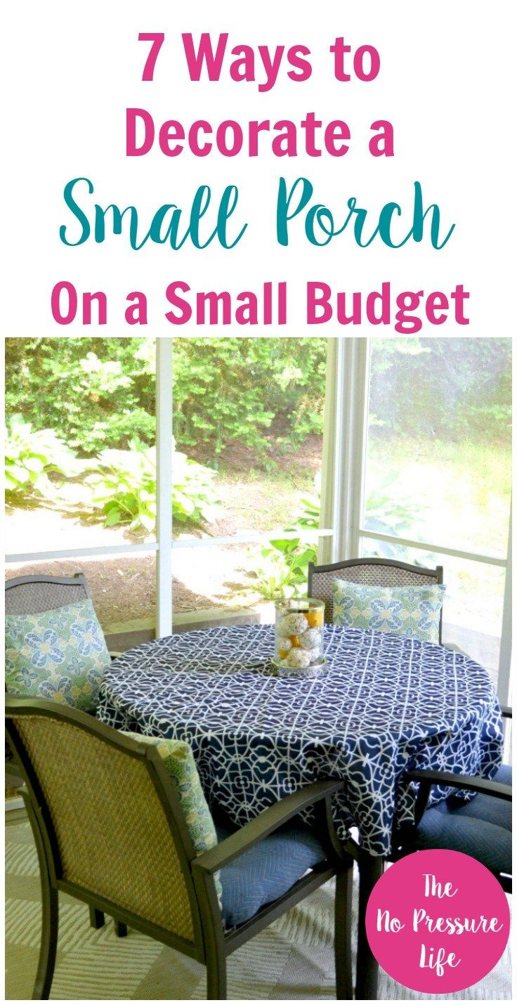Screened In Porch Decorating Ideas On A Budget Budget Patio