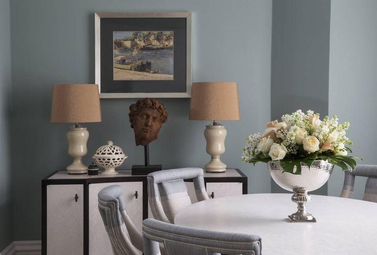 La mesa es la pieza más importante del comedor. Es el foco central y el punto alrededor del cual nos reunimos en una comida familiar, o cena romántica o reunión de amigos.