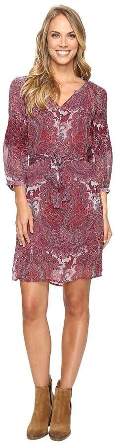 Lucky Brand Paisley Dress