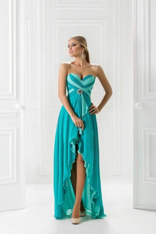 Красивые платья маллет фото 2017-2018, платья короткие спереди и длинные сзади фото