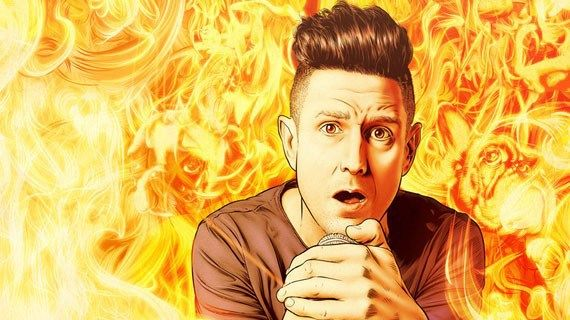 Join Comedian Wil Anderson for his new show, Fire at Wil, in April at the Sydney Opera