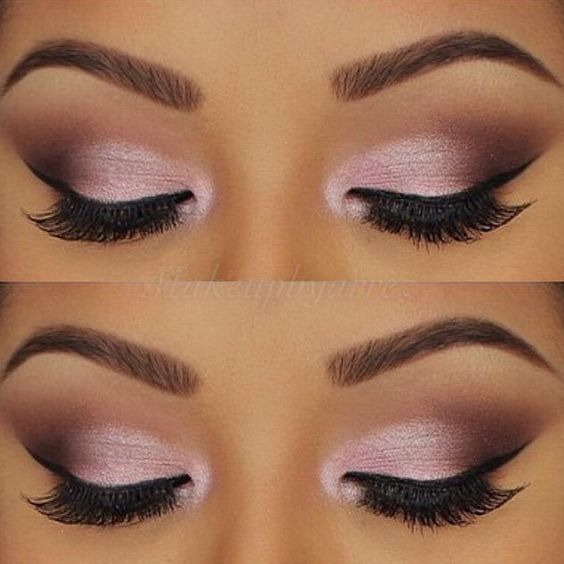 Try this look in Merle Norman using: Ballerina Matte Shadow, Rosewater Semi-Matte Shadow, Magical Shade Shifter Shadow, Storm Lasting Eye Color and Sugar Plum Shadow