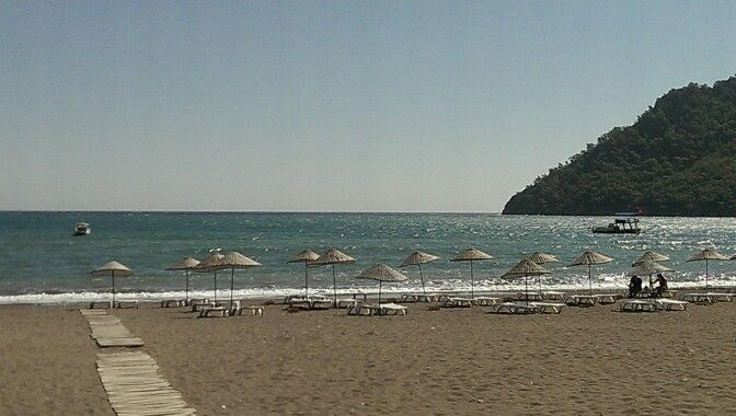 Adrasan Beach, Adrasan, Antalya, Turkey. Actually stayed here, hotel facing the beach, beautiful views!!