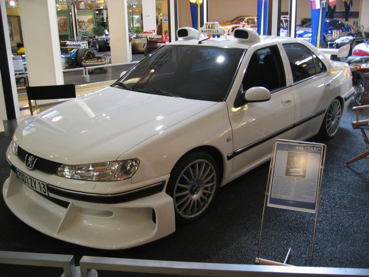 "Peugeot 406 - ""Taxi 3"" 2003"