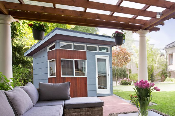 Best 25 modern shed ideas on pinterest diy shed plans for Modern sheds for sale