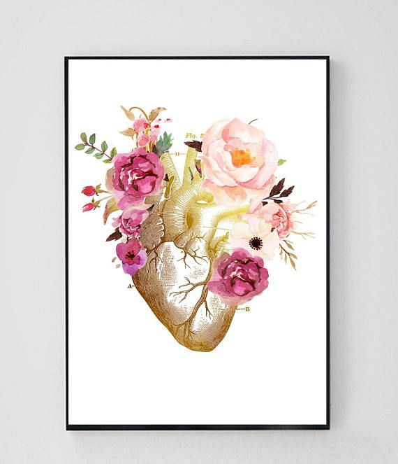 Coronary heart Anatomy Artwork, Coronary heart Anatomy Print, Coronary heart Anatomical Poster, Surgical procedure Artwork, Cardiology Reward, Medical Pupil Reward, Physician Workplace Decor, P1 0b8df75eb371d4ab90ece8aff40eb693