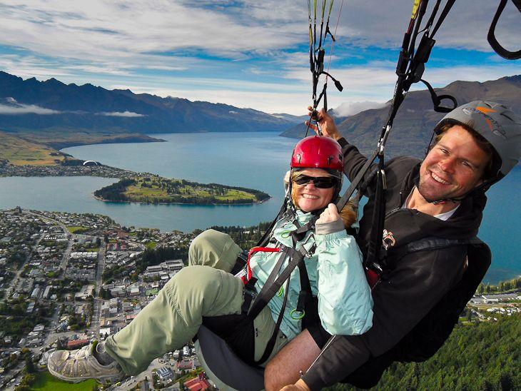 Soaring over Queenstown, New Zealand | The Planet D