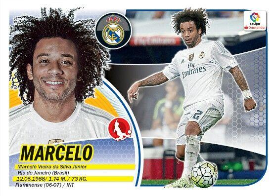 Marcelo - Real Madrid - LIGA BBVA - 2016-2017 PANINI