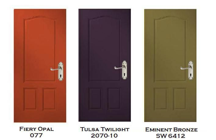 Three Exterior Door Color Prescriptions From Pai