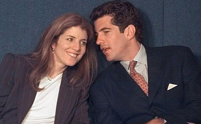 Caroline Kennedy and JFK jr.