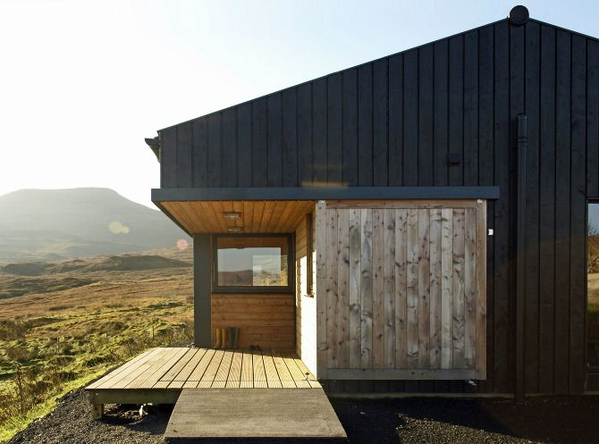 Skinidin - The Black Shed - Rural Design Architects - Isle of Skye and the Highlands and Islands of Scotland