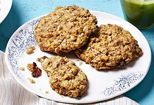Breakfast Cookies Recipe - Oprah.com With green juice... My kinda breakfast!