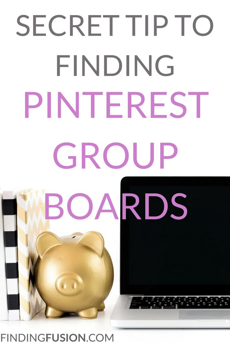 Pinterest group boards are great for gaining exposure!  Check out my secret tip to finding Pinterest group boards.