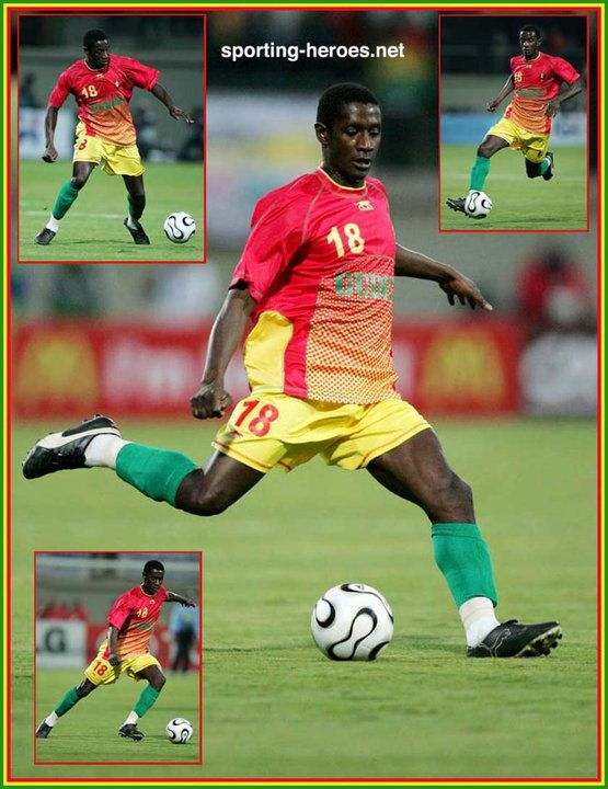Momo Sylla - Guinee - Coupe d'Afrique des Nations 2006