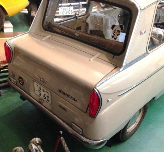 1966 Mitsubishi Minica Rear