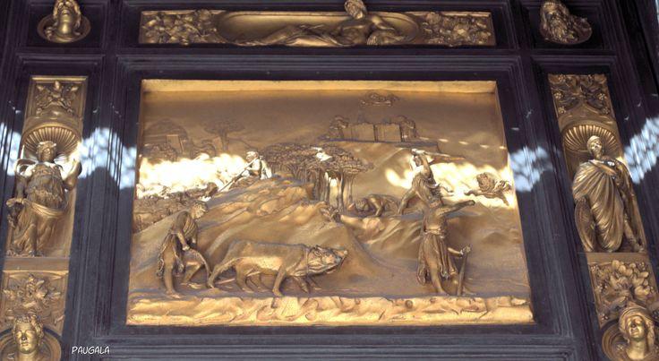 Florencia. Italia. Puerta del Paraíso. 1425-1452. Lorenzo Ghiberti.