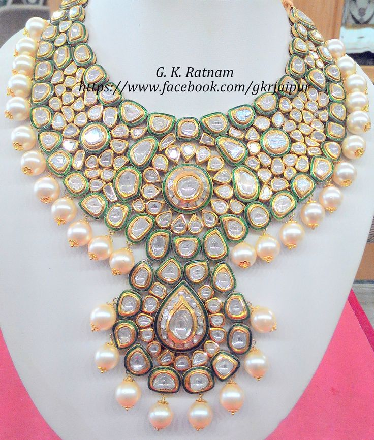 Jewelry adds richness and another layer in the storytelling! A magnificient diamond polki necklace to help make moments iconic   Diamond Polki Jewelry   Bridal Sets   Vilandi Jewelry   Traditional Indian Jewelry   Wedding Jewelry