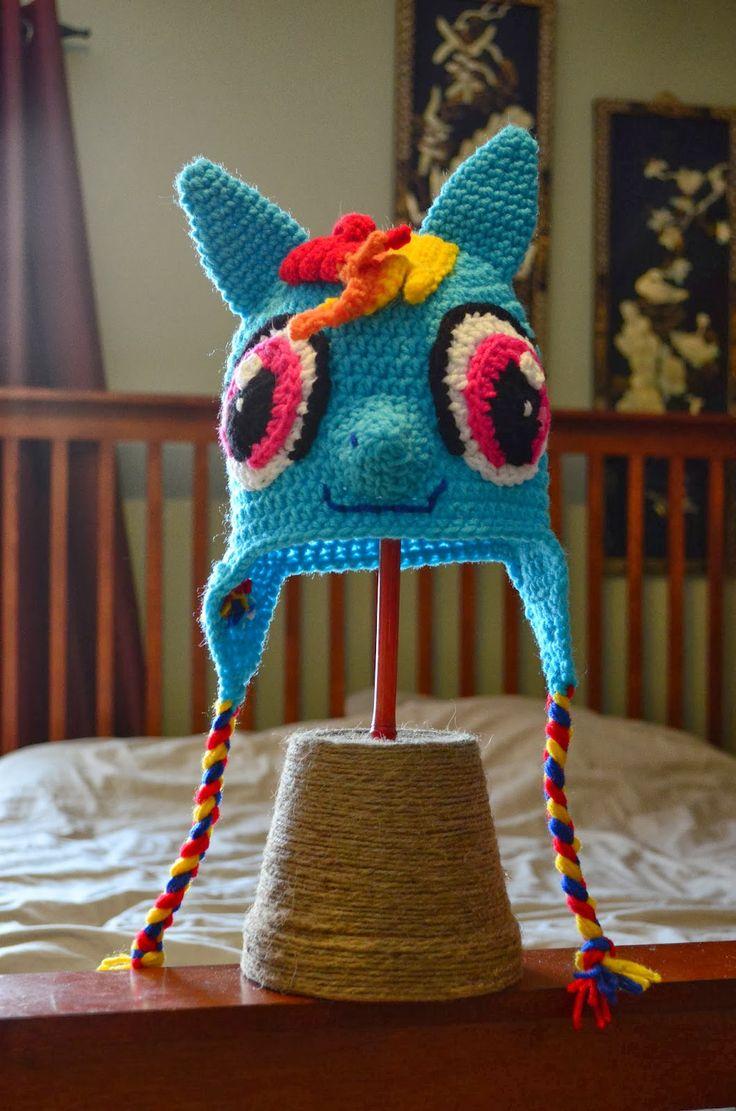 1983 besten crochet hats Bilder auf Pinterest | Hut häkeln ...
