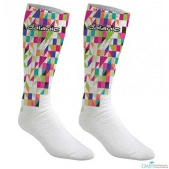 Sublimated Cheap Socks:  Cheap socks online from global leading wholesaler, Oasis Sublimation is brilliantly made and offered at huge discounts, take a look.