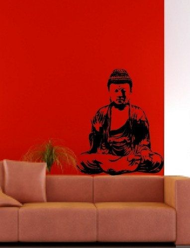 Wall Mural Decal Sticker Home Buddha India Meditation on Etsy, $26.91 AUD