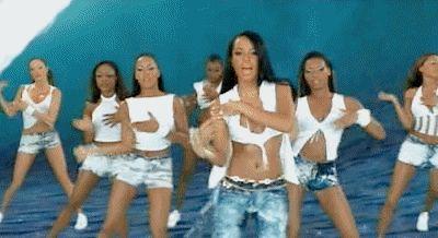 Aaliyah rock the boat