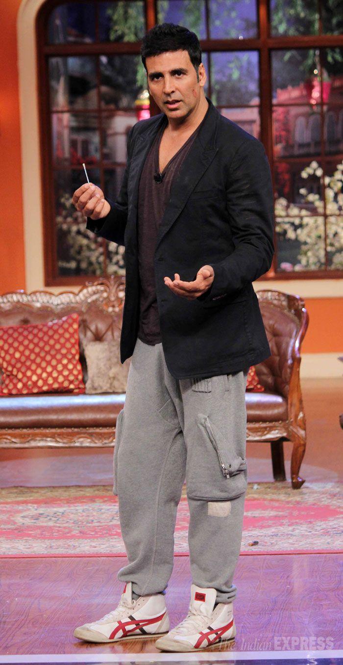 Akshay Kumar on Kapil Sharma's 'Comedy Nights With Kapil' to promote his film…