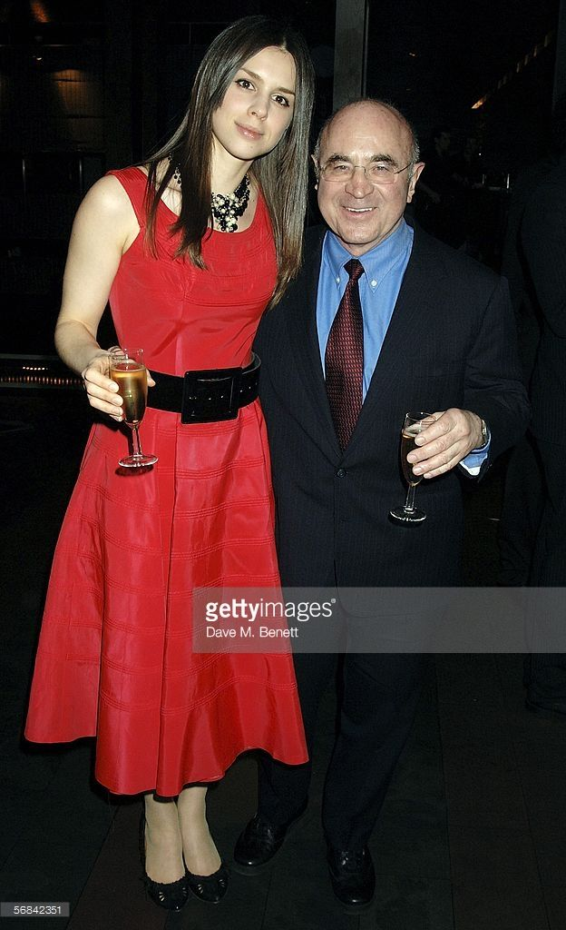 Bob Hoskins with Daughter Rosa Hoskins attend the after show party following the Albery Theatre press night for new stage production Blackbird, at Mint Leaf on February 13, 2006 in London, England.