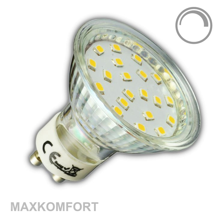 GU10 LED Leuchtmittel 4W DIMMBAR 3000K/4000K warmweiß/neutralweiß