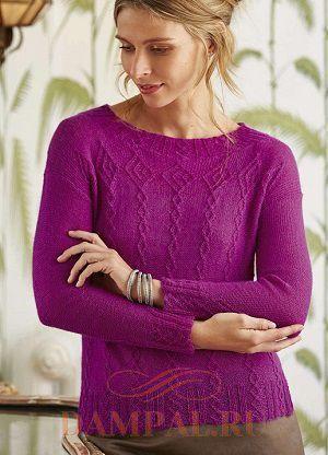 тонкий пуловер
