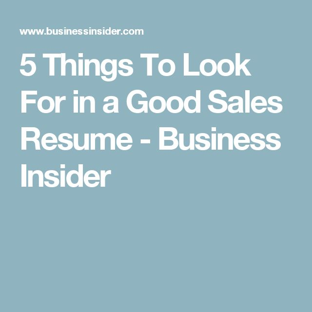 17 best ideas about sales resume on marketing