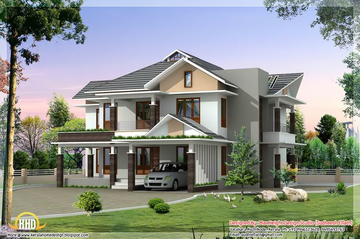 image detail for - modern house elevation - kerala home design