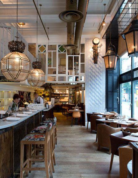 Restaurante Ibérica Marylebone, decorado por Lázaro Rosa-Violán y con Nacho Manzano en la cocina http://www.muudmag.com/spa/pagina/580-Restaurante-Iberica FOTOS: Enrique Menossi
