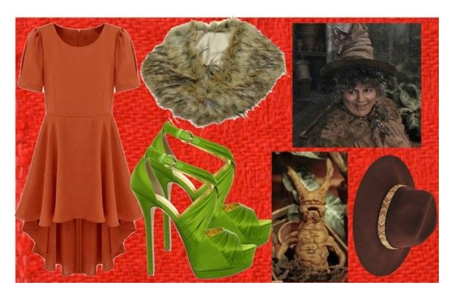 Pomona Sprout by slytheriner on Polyvore featuring Nine West, Etro and Sprout