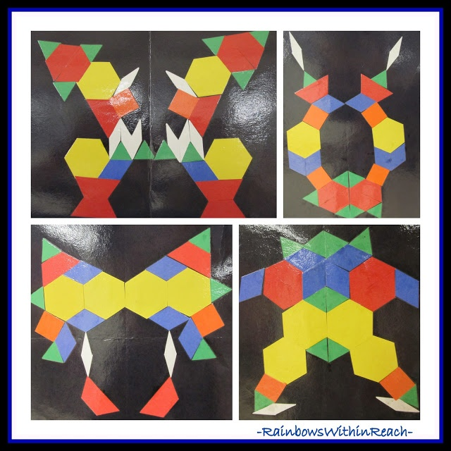 Fine Motor Friday, Chapter #43: Parquetry Design