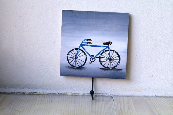 Bicycle hanger Cycling gifts for Cyclists Bike rack wall Bike