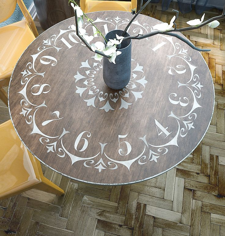 17 Best Ideas About Round Coffee Tables On Pinterest: 17 Best Ideas About Clock Table On Pinterest