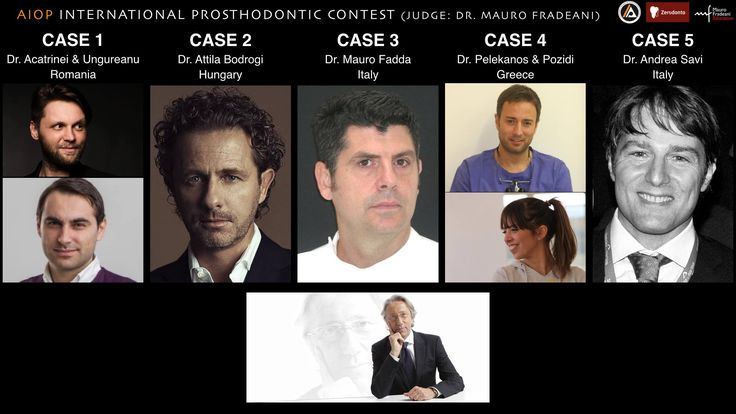 Choose the winner of the AIOP International Prosthodontic Contest! Leave your comment here: https://www.facebook.com/zerodonto/photos/a.10150970734503970.459063.134992723969/10152843967863970/?type=1&theater