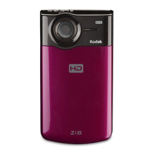 Kodak Zi8 Pocket Video Camera (Raspberry): affiliate link