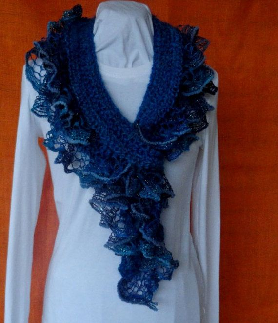 Sashay Ruffle Scarf Knit Pattern : Best 20+ Ruffle yarn ideas on Pinterest