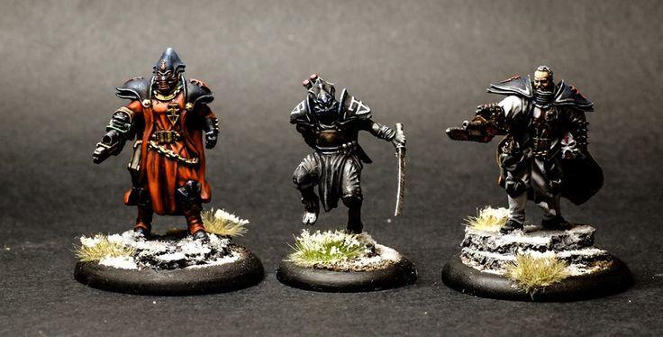 Inquisidor, Mortificador y Hamilkar, de La Hermandad