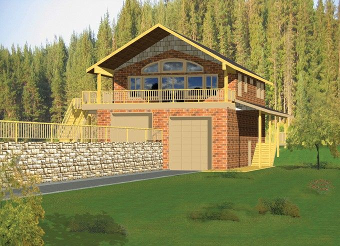 Top 25 ideas about lake house over garage on pinterest for Lake house plans with garage
