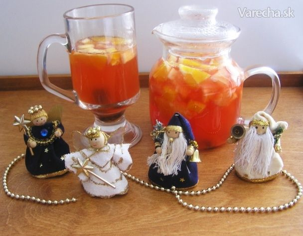 Vianočný punč s ovocím (fotorecept)