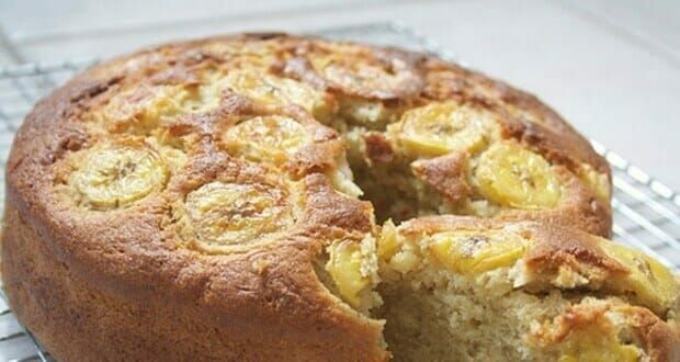 I Made This Banana Cake Without Flour Milk Or Sugar