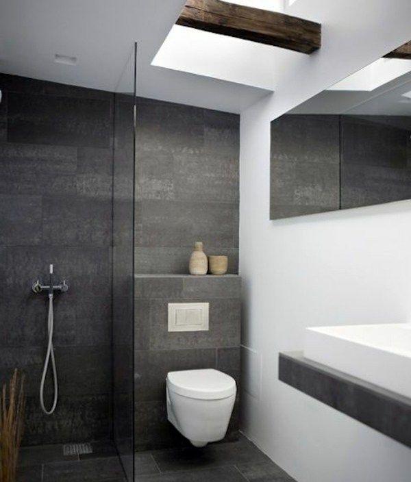 30 Trendige Badezimmer Design Ideen Badezimmer Grau Badezimmer Fliesen Ideen Modernes Badezimmer