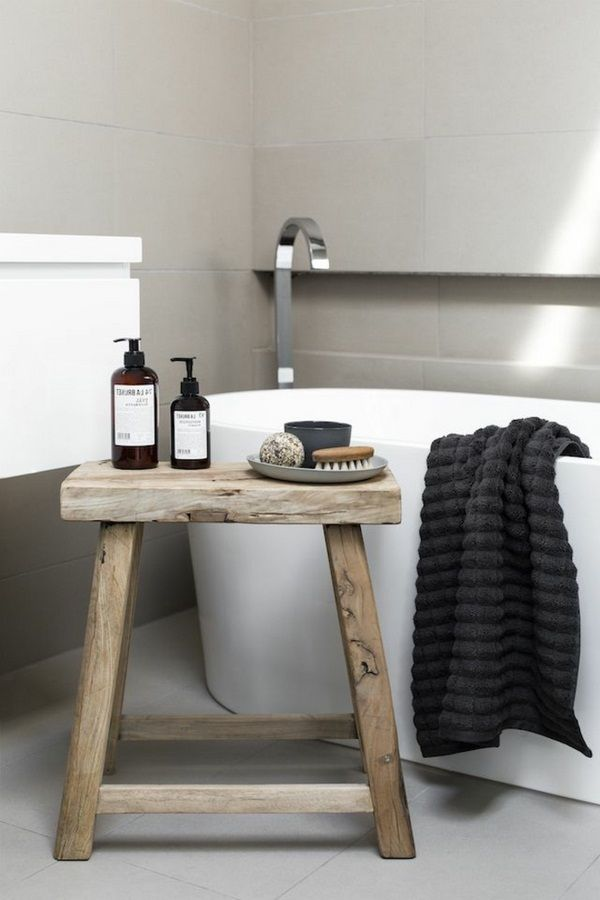 Bathroom stool beautiful look