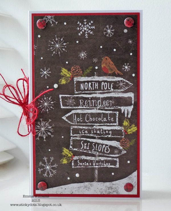 Christmas Gift Card Holder by Emma Williams