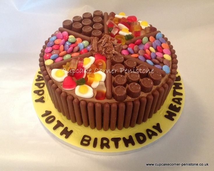 Chocolate heaven sweet cake..... with Haribo's!  Deeeeeeliciously scrummy! x