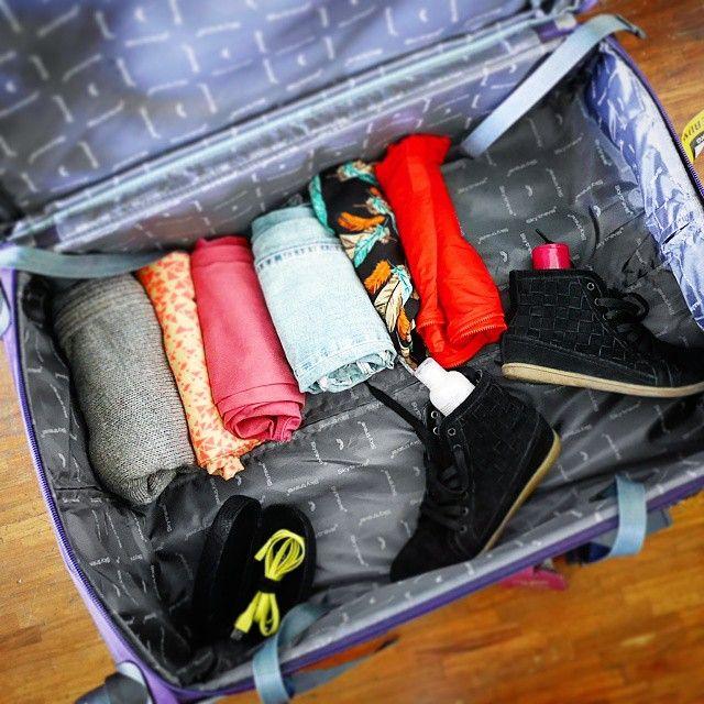 Trucos para hacer la maleta como un profesional.
