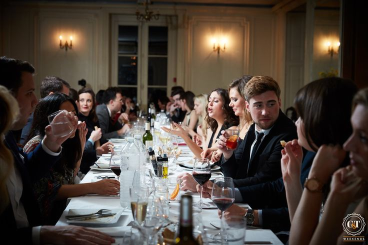 Dinner Time.   Weekends you missed — Easter Weekend in a French Château. #france #french #francais #frenchescape #GTWKNDS #travel #wanderlust #world #luxe #luxury #weekend #away #holiday #vacation #adventure #party #food #wine #events